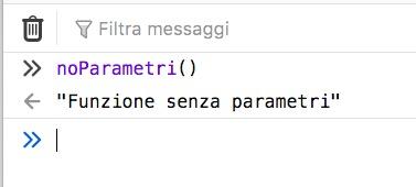 Aggiungendo le parentesi tonde una arrow function senza parametri funziona correttamente.